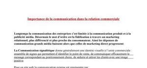 Importance de la communication dans la relation commerciale