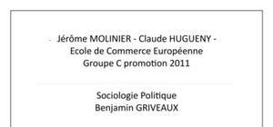 La France qui tombe - Sociologie Politique