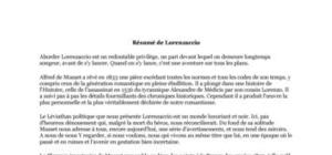 Résumé de Lorenzaccio