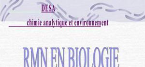RMN biologie