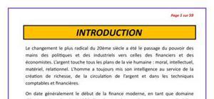 Le rôle de la fonction financière au Mali