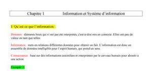 Chapitre 1 : Informatique