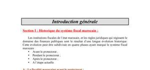 Fiscalite : cours et exercices