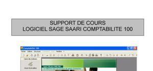 Support de cours Sage Comptabilité 100