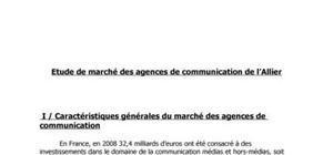 Etude de marché du secteur des agences de communication