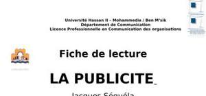 Jacques Séguéla : la publicité
