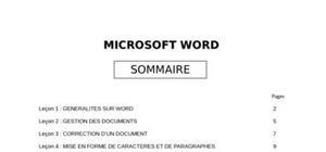 Cours de Perfectionnement en Microsoft Word
