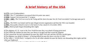 A brief history of the USA and Ireland
