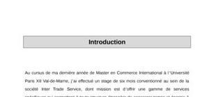 Rapport de stage en comptabilité-finance