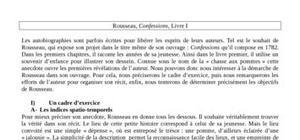 """Rousseau, Confessions, Livre I, """"La chasse aux pommes"""""""