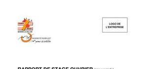 Rapport de stage type