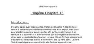 L'ingénu chapitre 16