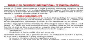 Economie monétaire internationale