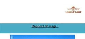 "Rapport de stage "" ram """