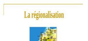 La régionalisation au maroc