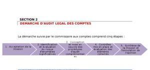 Démarche d'audit, légal