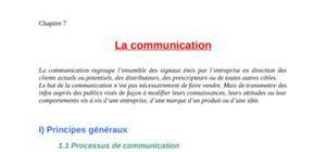 Marketing mix: la communication