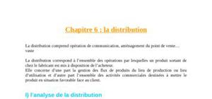 Marketing mix: la distribution