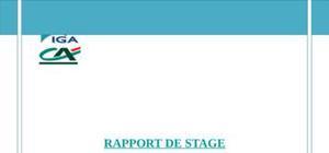 Rapport de stage '' crédit du maroc ''