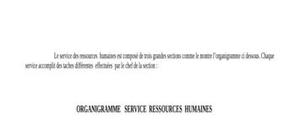 Service  ressources  humaines