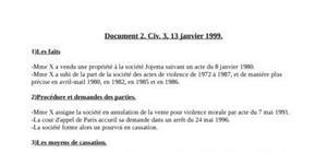 Droit des contrats (deuxième année de droit)