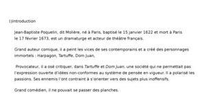 Biographie de moliére