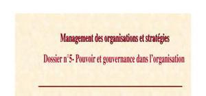 Management des pouvoirs et stratégies