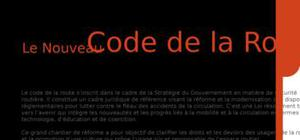 Nouveau code de la route au maroc