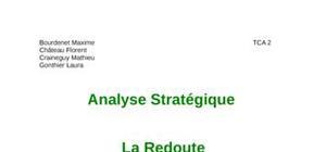 Etude stratégique de la redoute
