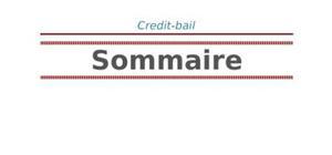 Crédit bail: moyen de financement
