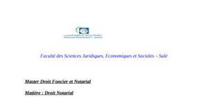 La nature juridique de la profession du notaire