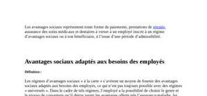 audit social gestion de compétence