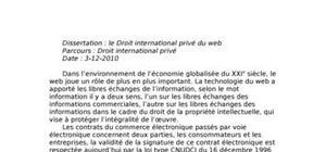 Droit international du web