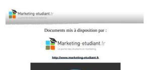 Le système d'information marketing
