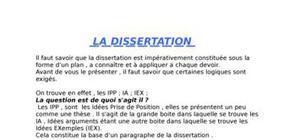 methode de la dissertation en droit