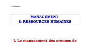 Management  & ressources humaines