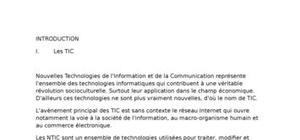 La technologie d'informmation et de communication  et la banque