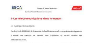 Les télécommunications dans le monde
