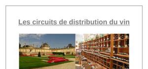 Les circuits de distribution de vin