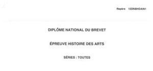 Sujet Histoire des Arts Brevet Pondichéry 2013