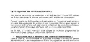 Gp et la gestion des ressources humaines