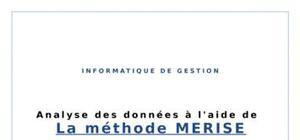 Info : méthode merise