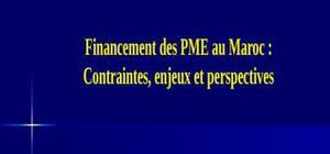 Financement pme au maroc
