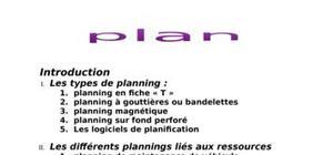 Planification de transport