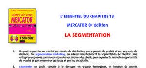 La segmentation des clients