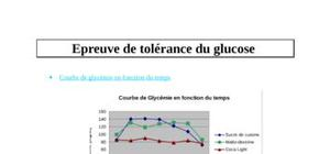 Epreuve de tolérance du glucose