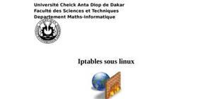 Regles d'iptables sous linux