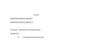 Le business plan dans la qualité