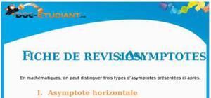 Cours Asymptotes : Terminale ES