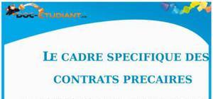 Le Cadre Spécifique des Contrats Précaires : Cours Droit Terminale STG